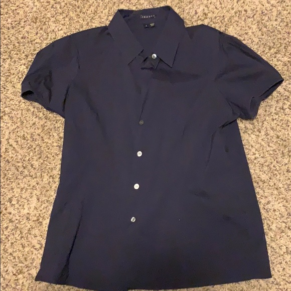 Tops - Theory collared shirt